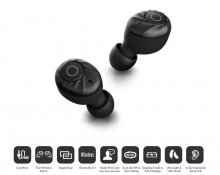 Cowon CT5 Bluetooth sluchátka Black