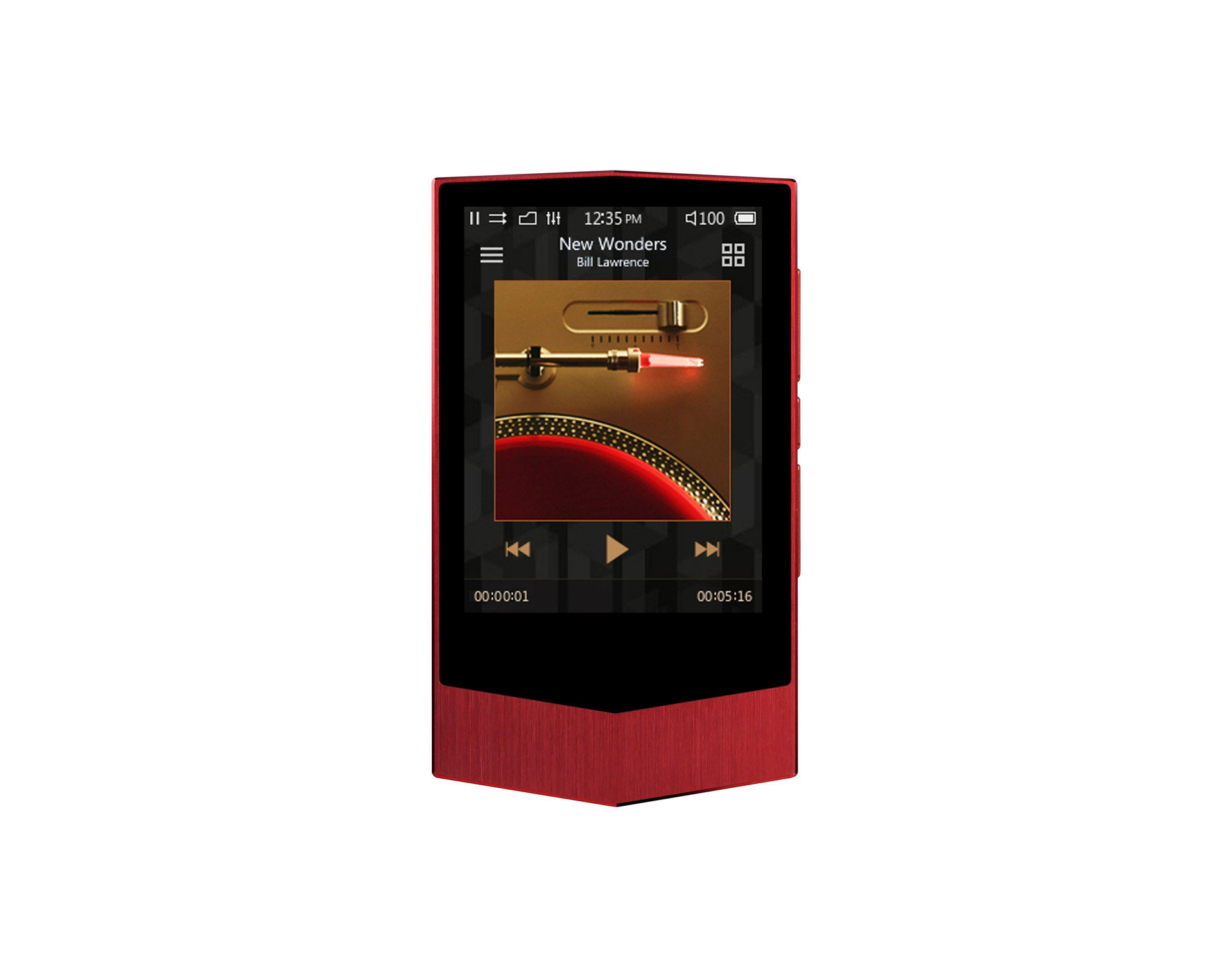COWON Plenue V 64GB Formula Red