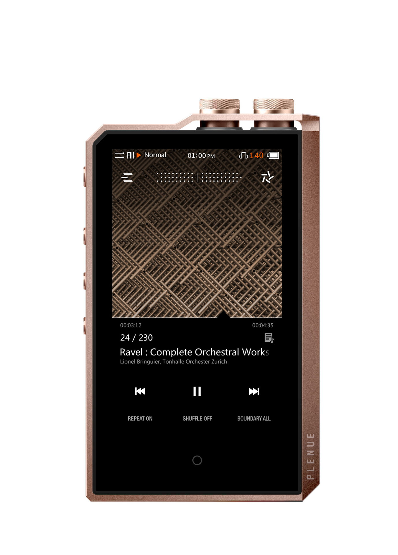 COWON Plenue 2 Mark II 256GB Jupiter Gold