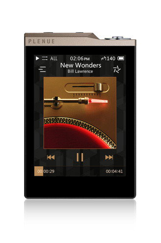 COWON Plenue D2 64GB (Gold/Black)