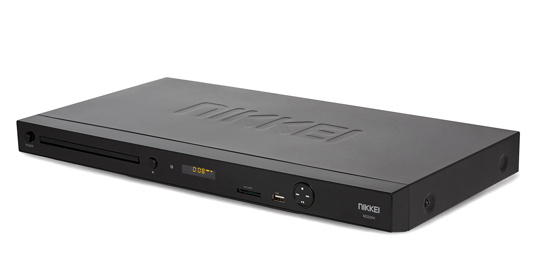 Nikkei ND220H DVD-player with HDMI, USB-port and Cardreader (43 cm)