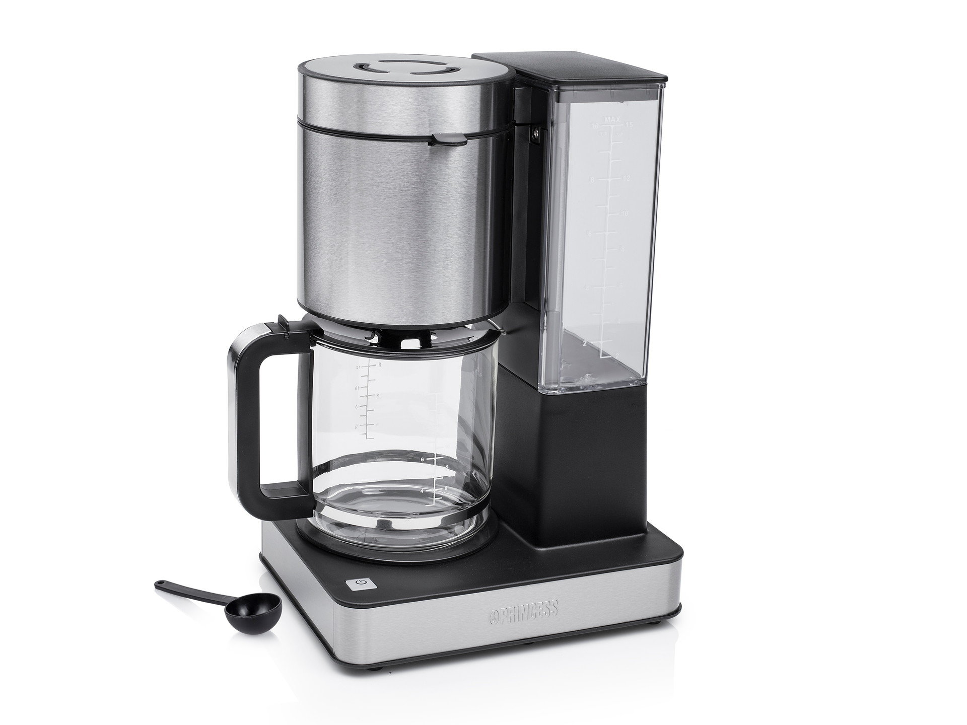 Princess '01.246002.01.001 Coffee Maker Stainless Steel DeLuxe