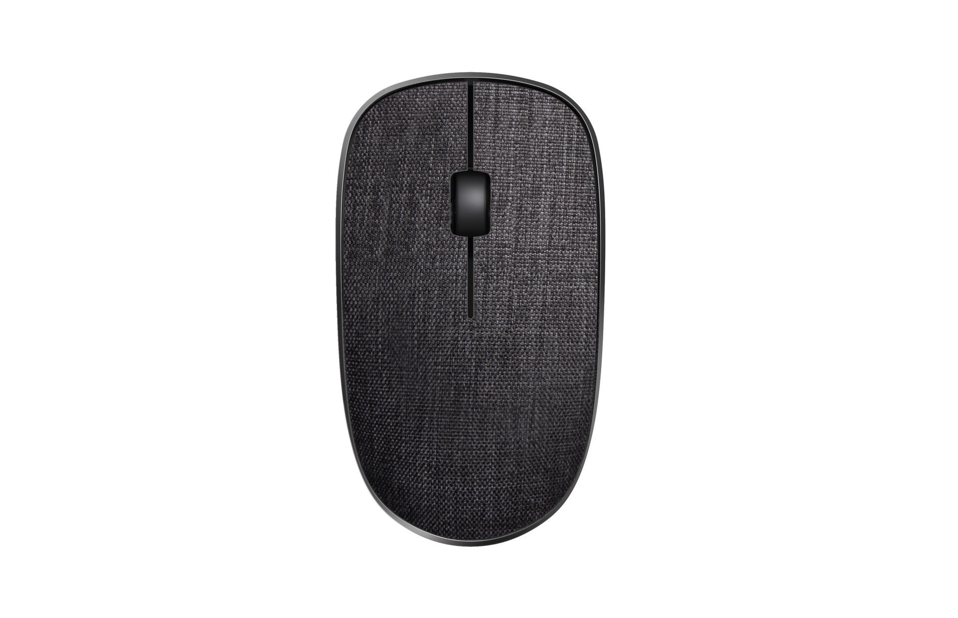 Rapoo 3510+ Wireless Optical Mouse white Black textil