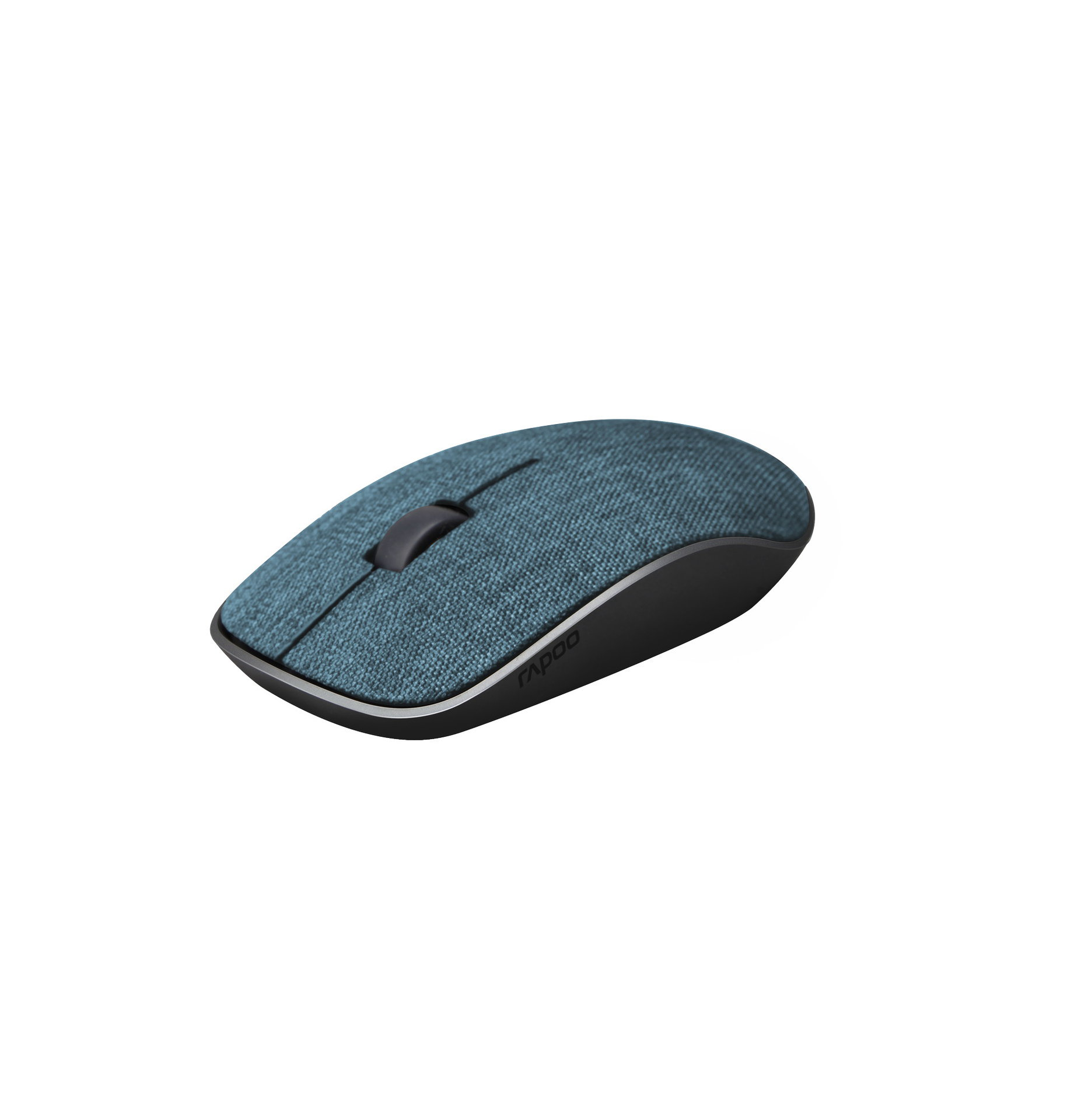 Rapoo 3510+ Wireless Optical Mouse white Blue textil
