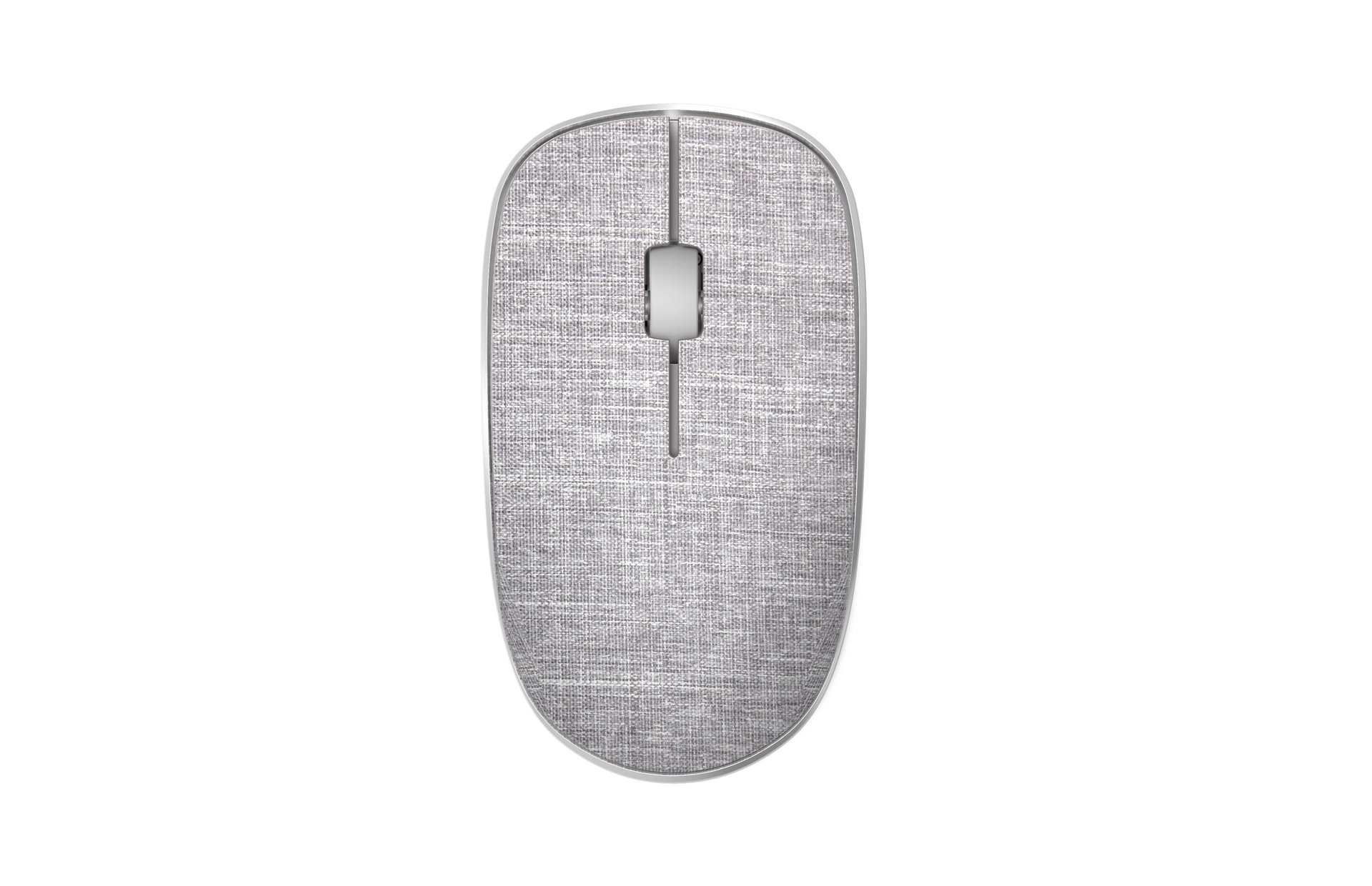 Rapoo 3510+ Wireless Optical Mouse white Gray textil