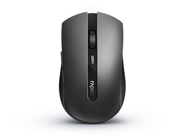 Rapoo 7200M Multi-mode Wireless Optical Mouse Dark Grey