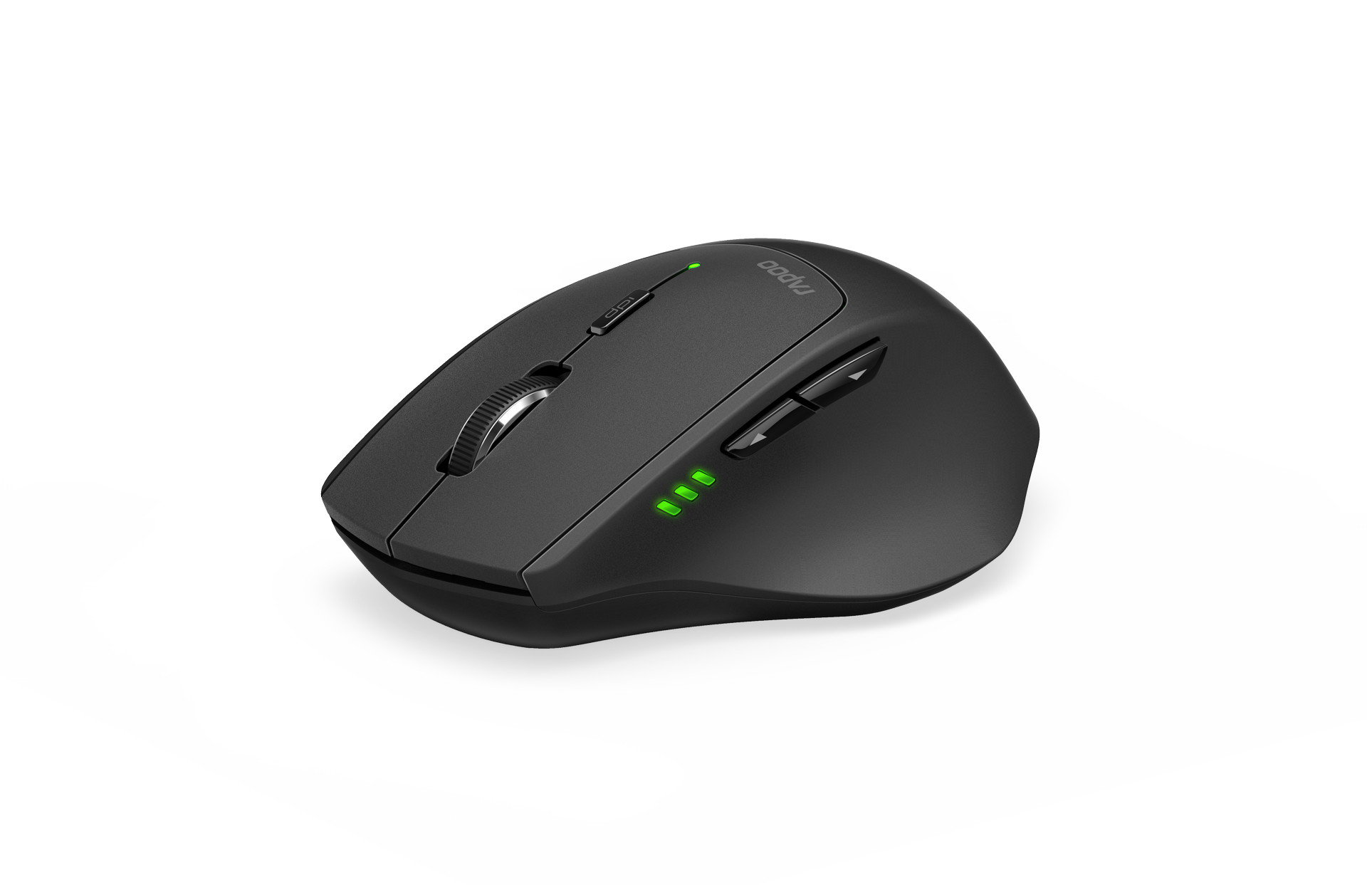 Rapoo MT550 Wireless Laser Mice, Multi-mode: 2.4 GHz, Bluetooth 3.0 & 4.0