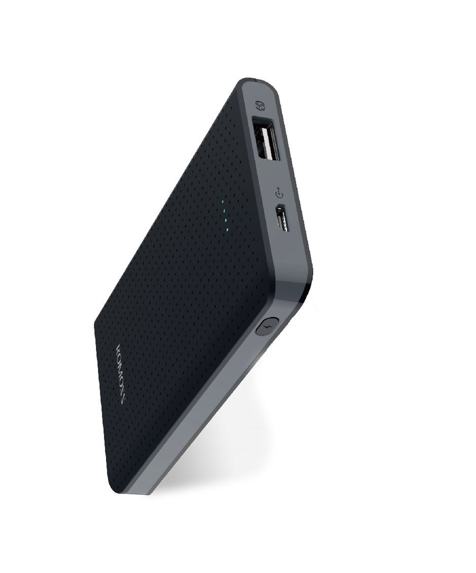 ROMOSS sense mini PHP05 Black Power Bank Capacity:5000mAh (Cell: Li-polymer ) Input: DC5V 2.1A Out