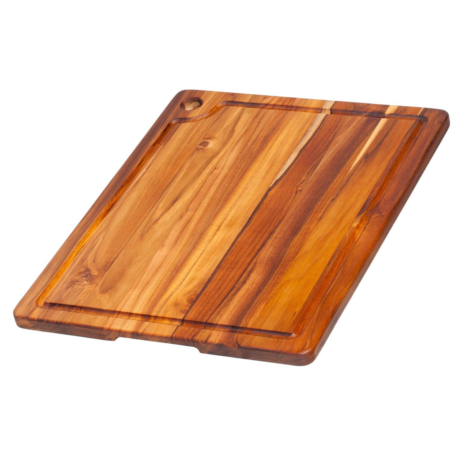 Teak Haus Edge Grain Marine Collection Boards 517 Corner Hole & Juice Groove 46x35,5x1,9