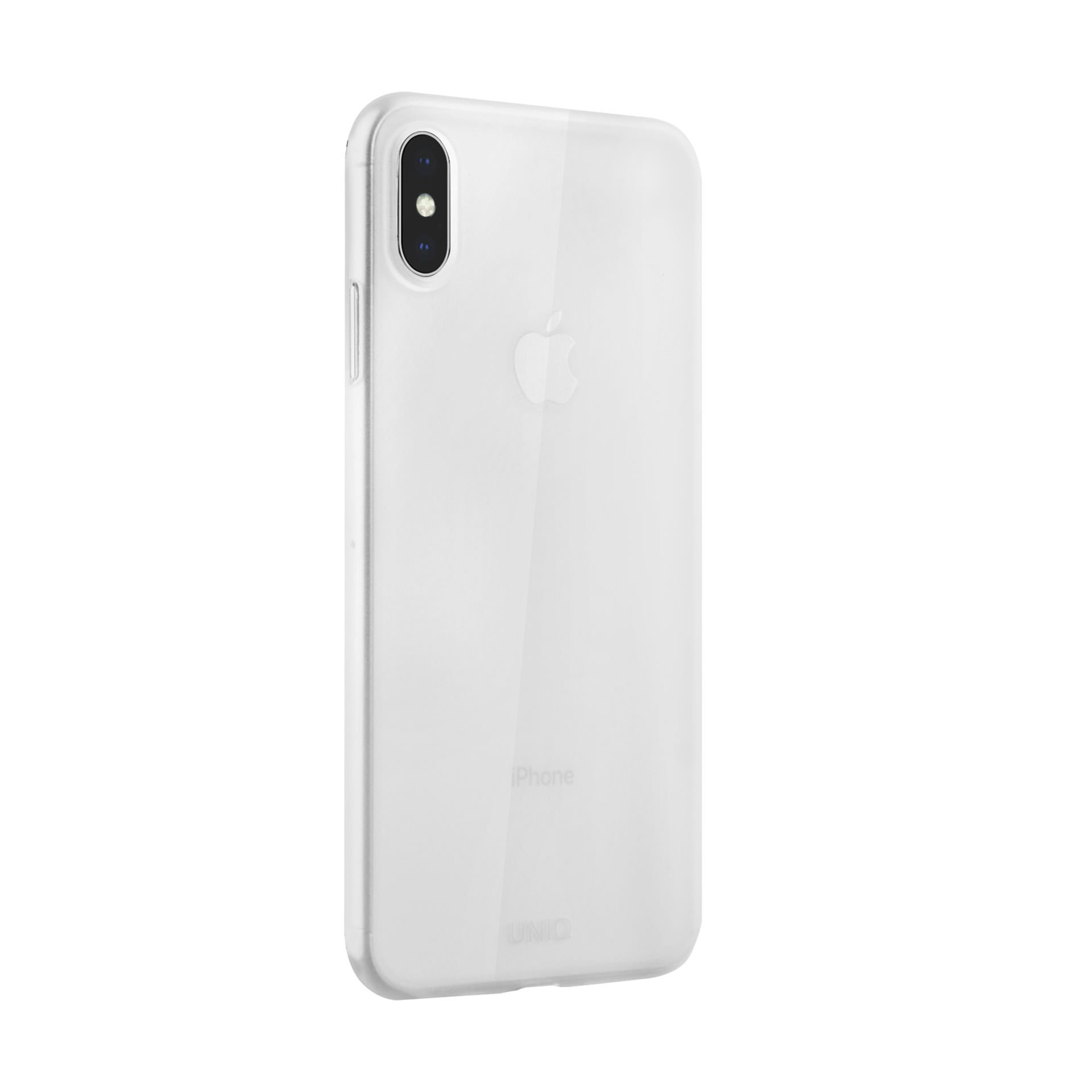 Uniq Bodycon Matte iPhone XS/X Dove číré