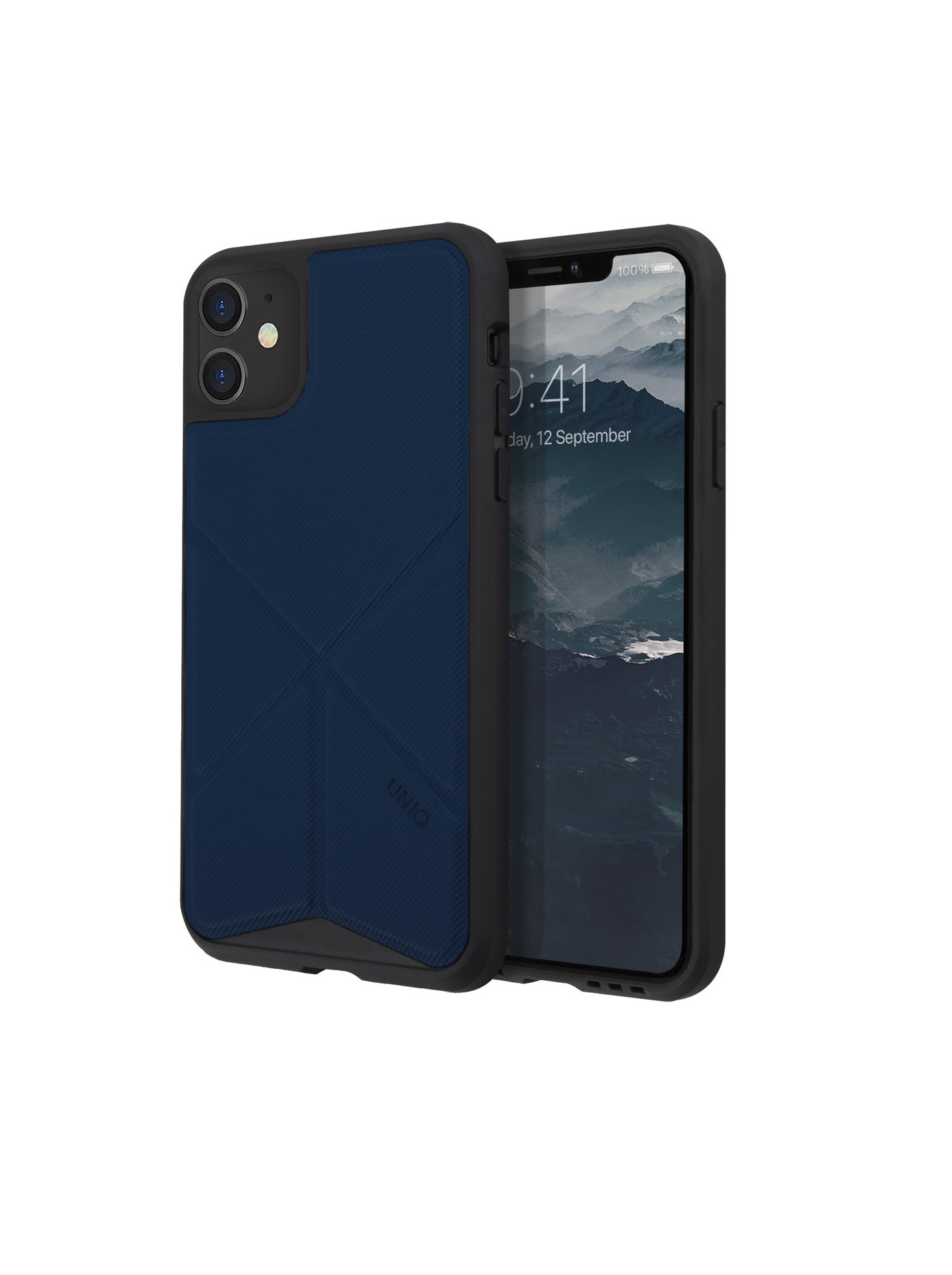 Uniq Transforma pouzdro na iPhone 11 Navy Panther modré