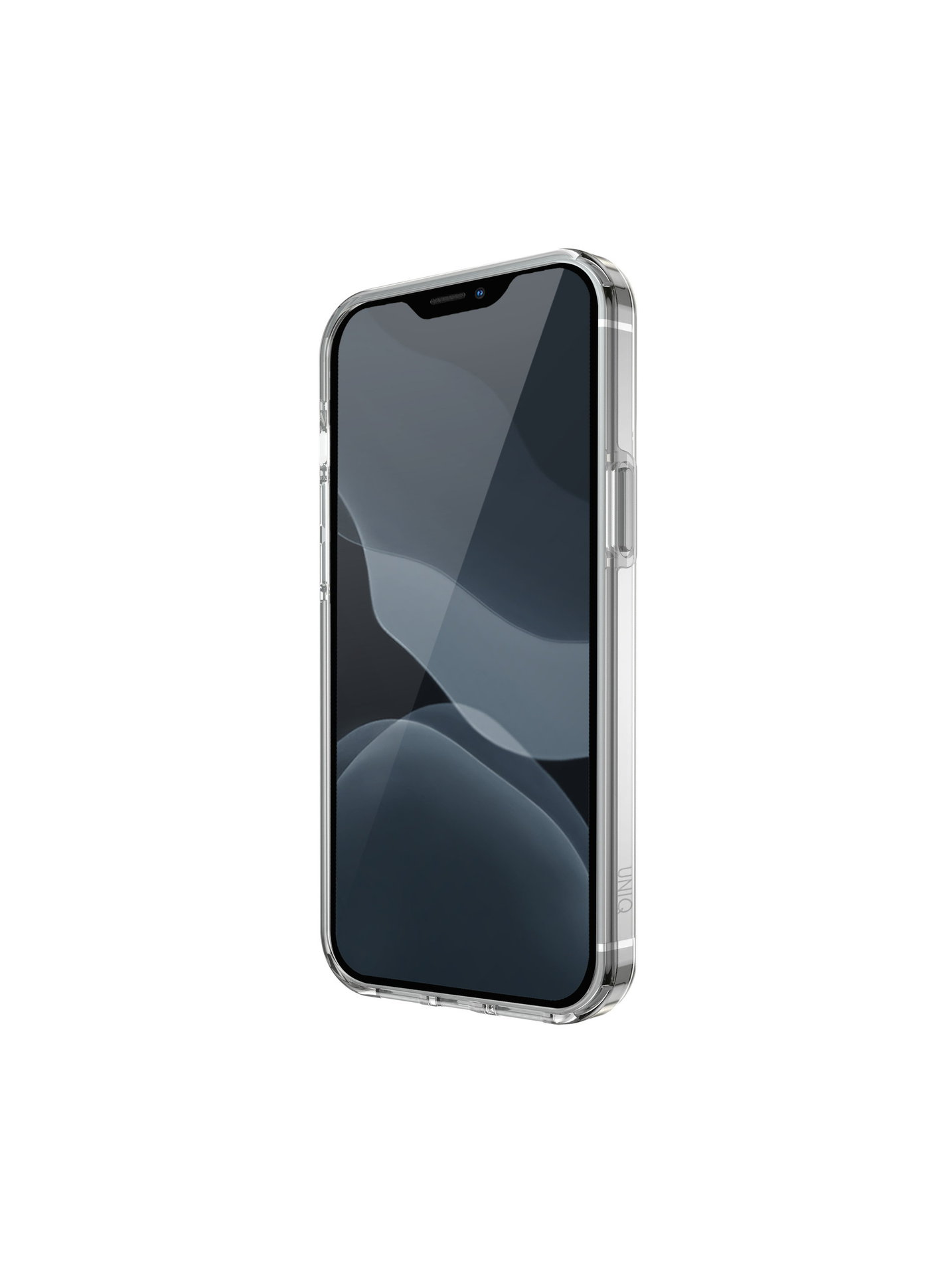 UNIQ Hybrid kryt iPhone 12, iPhone 12 Pro Clarion Antimicrobial Lucent Clear čirý