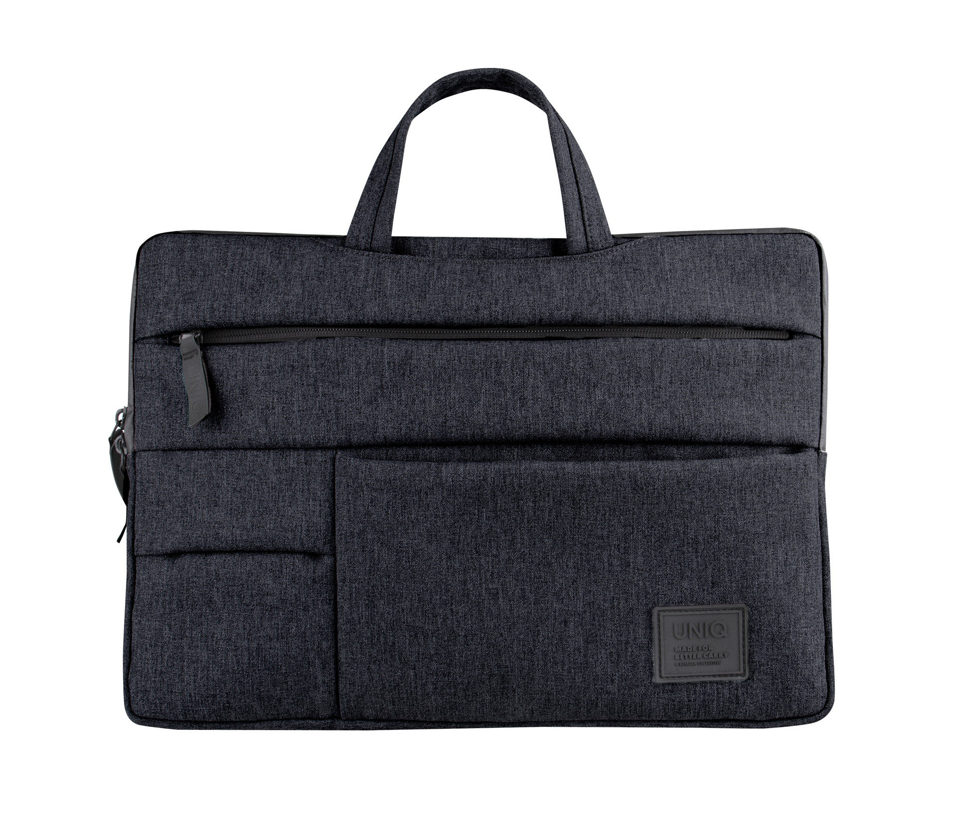 Uniq Cavalier 2-in-1 Laptop Sleeve (Up to 15 Inche) - Charcoal