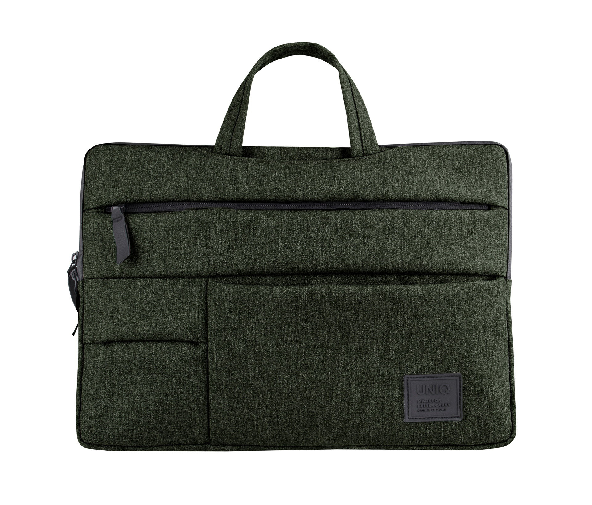 Uniq Cavalier 2-in-1 Laptop Sleeve (Up to 15 Inche) - Khaki Green