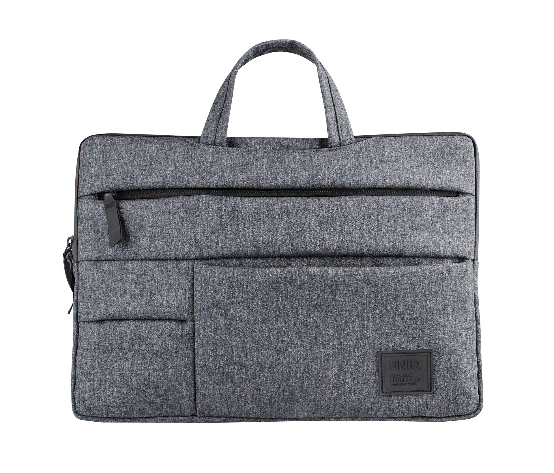 Uniq Cavalier 2-in-1 Laptop Sleeve (Up to 15 Inche) - Marl Grey