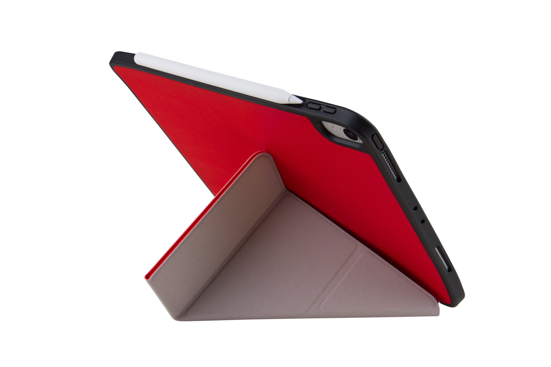 UNIQ TRANSFORMA RIGOR PLUS NEW IPAD PRO 11 (2018) - CORAL (RED)