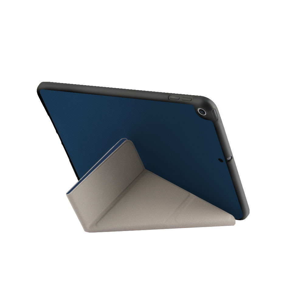 Uniq Transforma Rigor pouzdro se stojánkem Apple iPad Mini 4/5 (2019) Electric Blue modré