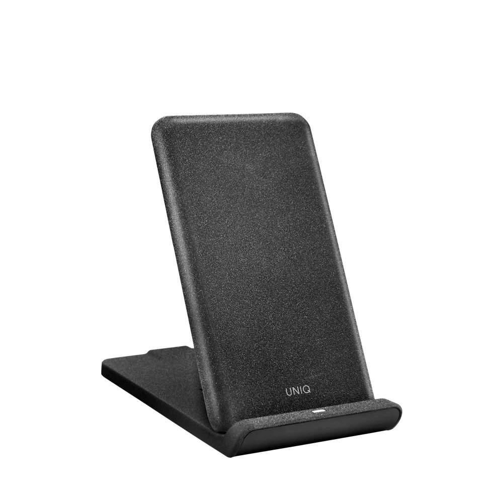 Uniq Vertex Foldable Fast Wireless Charger 7.5/10W - Charcoal